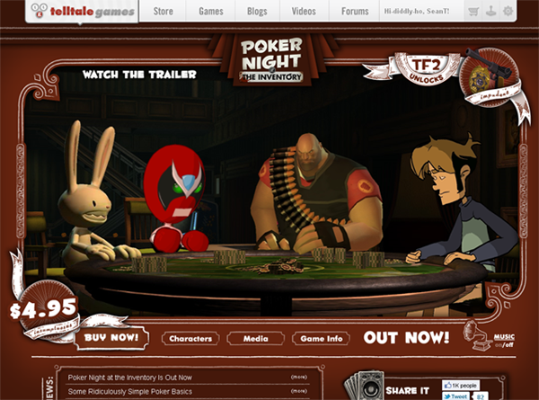 Telltale Games: Poker Night at The Inventory